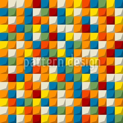 Mosaik Steine Rapportiertes Design