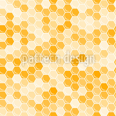 Queen Of The Honeycomb Repeat Pattern