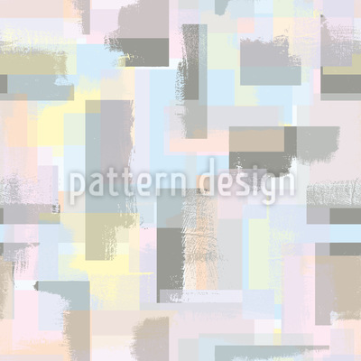 Paint Roller Geometry Repeat Pattern