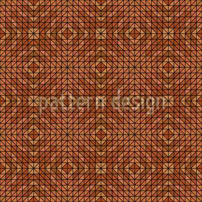 Geometric Woodland Repeat Pattern