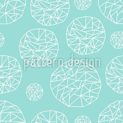 Süsse Kristalle Muster Design