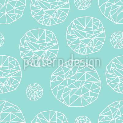 Sweet Crystals Pattern Design