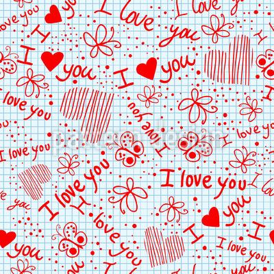 Liebesgeständnisse In Der Schule Musterdesign