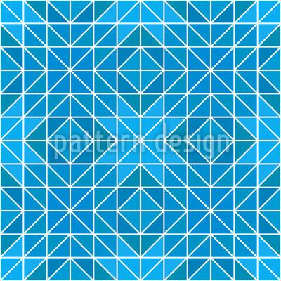 Frozen Geometry Repeat Pattern