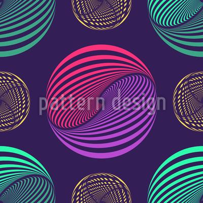 Willy Wonkas Murmeln Vektor Muster