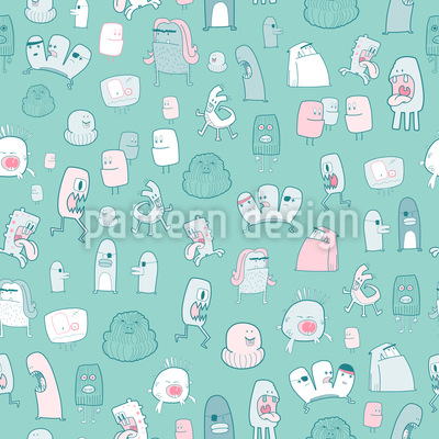 Auch Kleine Monster Brauchen Liebe Vektor Design