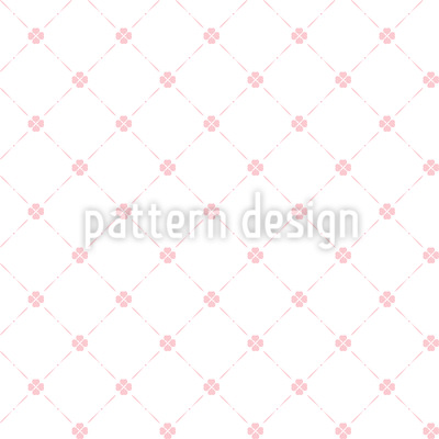 Country Clover Seamless Pattern
