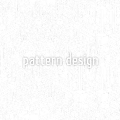 Monochrome Metropolen Vektor Design