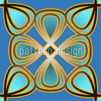 Floral Palace Pattern Design
