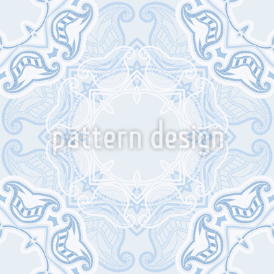 Winter Doily Vector Design