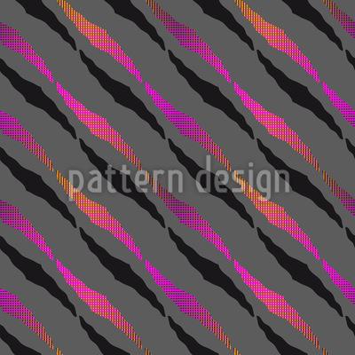 Zebra Wanderung Rapportiertes Design
