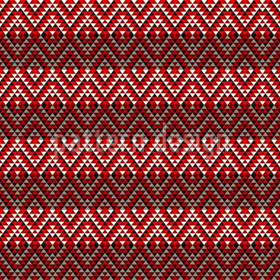 Aztec Elegance Vector Pattern