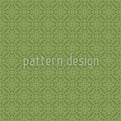 Crocheted Doily Repeating Pattern