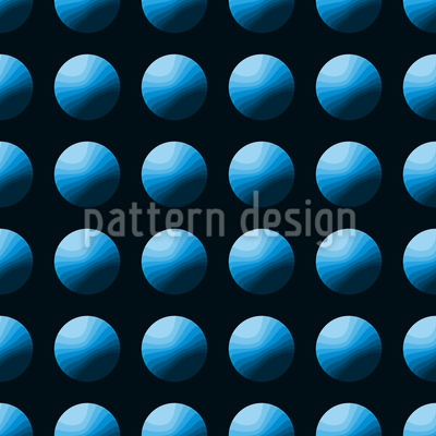 Drück Den Blauen Knopf Vektor Ornament