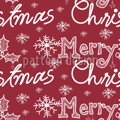 The Snowflakes Christmas Greetings Vector Design