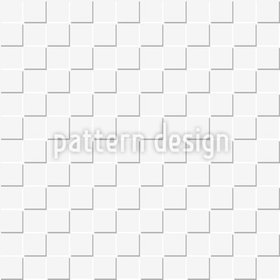 Quadrate Monochrom Vektor Ornament
