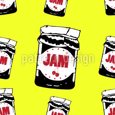 Taste The Cherry Jam Pattern Design