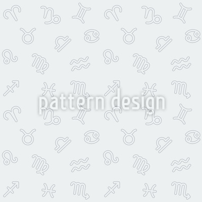 Zodiac monochrome Design Pattern