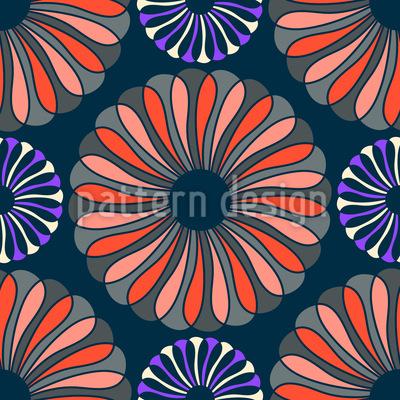 Flower Elegance Repeat Pattern