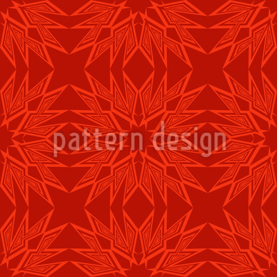 Paperstar In Flames Pattern Design