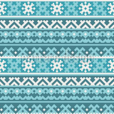 Nordwärts Gibt Es Schnee Rapportiertes Design