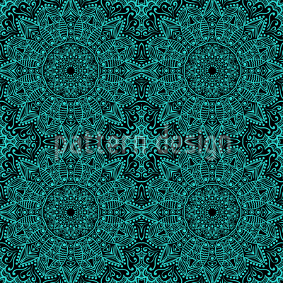 Mystic Mandala Vector Ornament