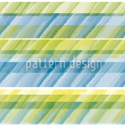 Aqua Stripes Repeat Pattern