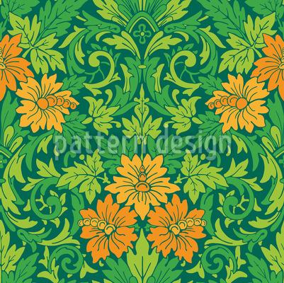 Der Prachtgarten Rapportiertes Design