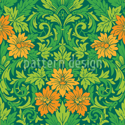 The Impressive Garden Repeating Pattern