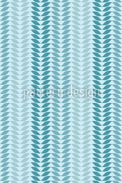 Einfach Blatt Vektor Muster