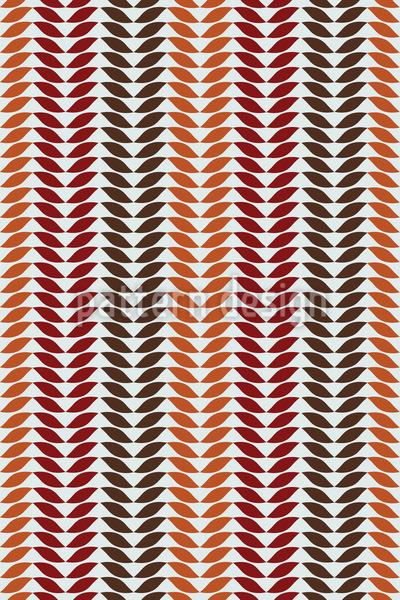 Einfach Herbst Blatt Rapportiertes Design