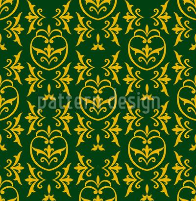 Granatapfel Medieval Musterdesign