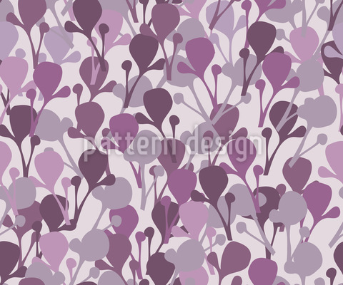 East Of Eden Gardens Vector Pattern