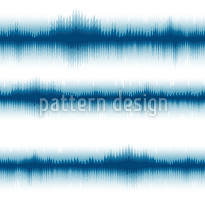 Batik Streifen Maritim Nahtloses Muster