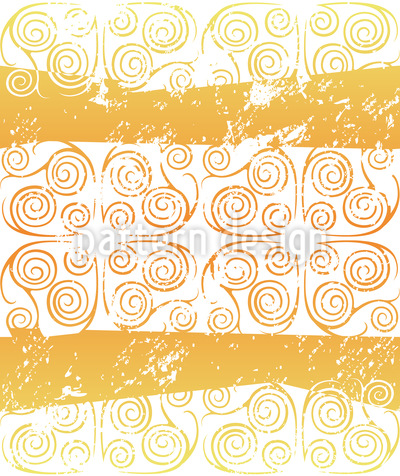 Antiqua Gold Vector Pattern