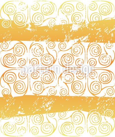 Antiqua Gold Vektor Muster