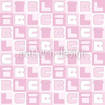 Girl Sudoku Vector Ornament