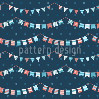 Funny Garlands Pattern Design