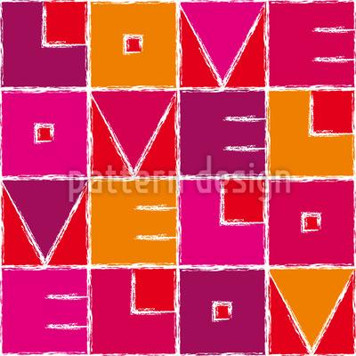 Love Velo Musterdesign