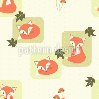 The Cunning Little Vixen Vector Pattern