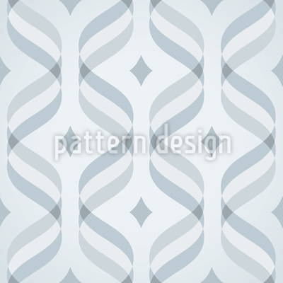 Wellen Und Karo Muster Design