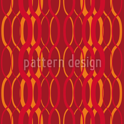 Fire Waves Pattern Design