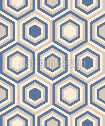 Soft Hexagon Seamless Pattern