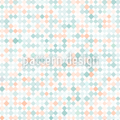 Zartes Karo Mosaik Nahtloses Muster