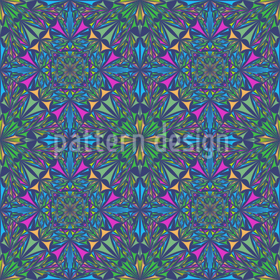 Mystic Kaleidoscope Repeating Pattern