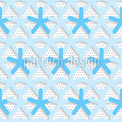 Sternchen Auf Punkt Muster Design