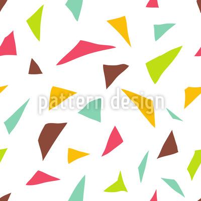 Triangular Confetti Seamless Vector Pattern