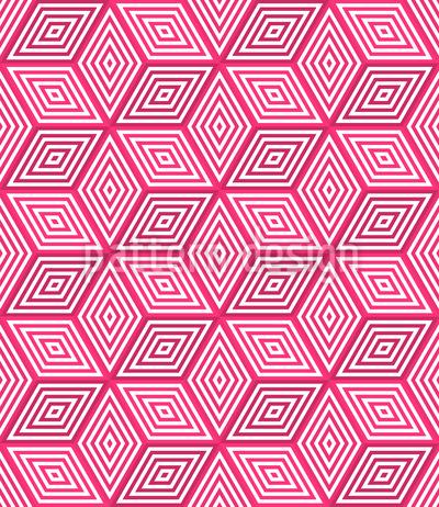 3D Cubes Pattern Design