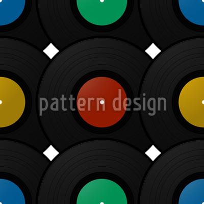 Schallplatte Designmuster