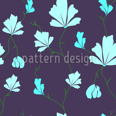 Meadow Beauties Repeating Pattern